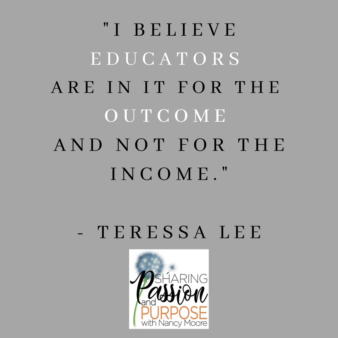Encouraging Quote by Teressa Lee