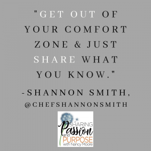 Quote by Chef Shannon Smith