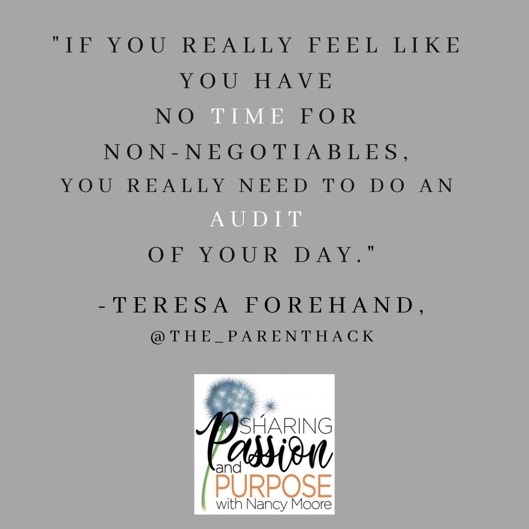 Tuesday's Tip by Teresa Forehand of The Parent Hack Podcast