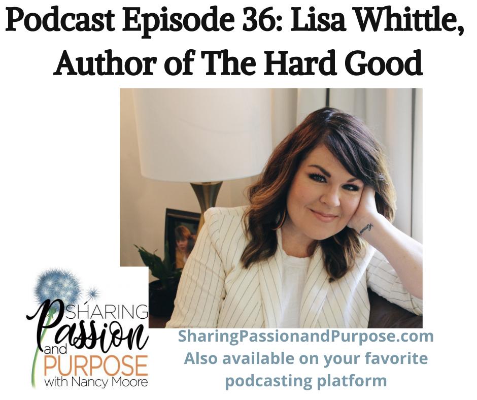Lisa Whittle, Author of The Hard Good
